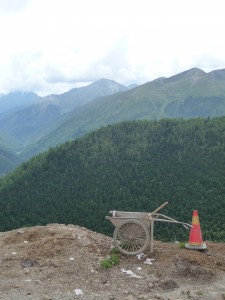 Roadworks at 4000m